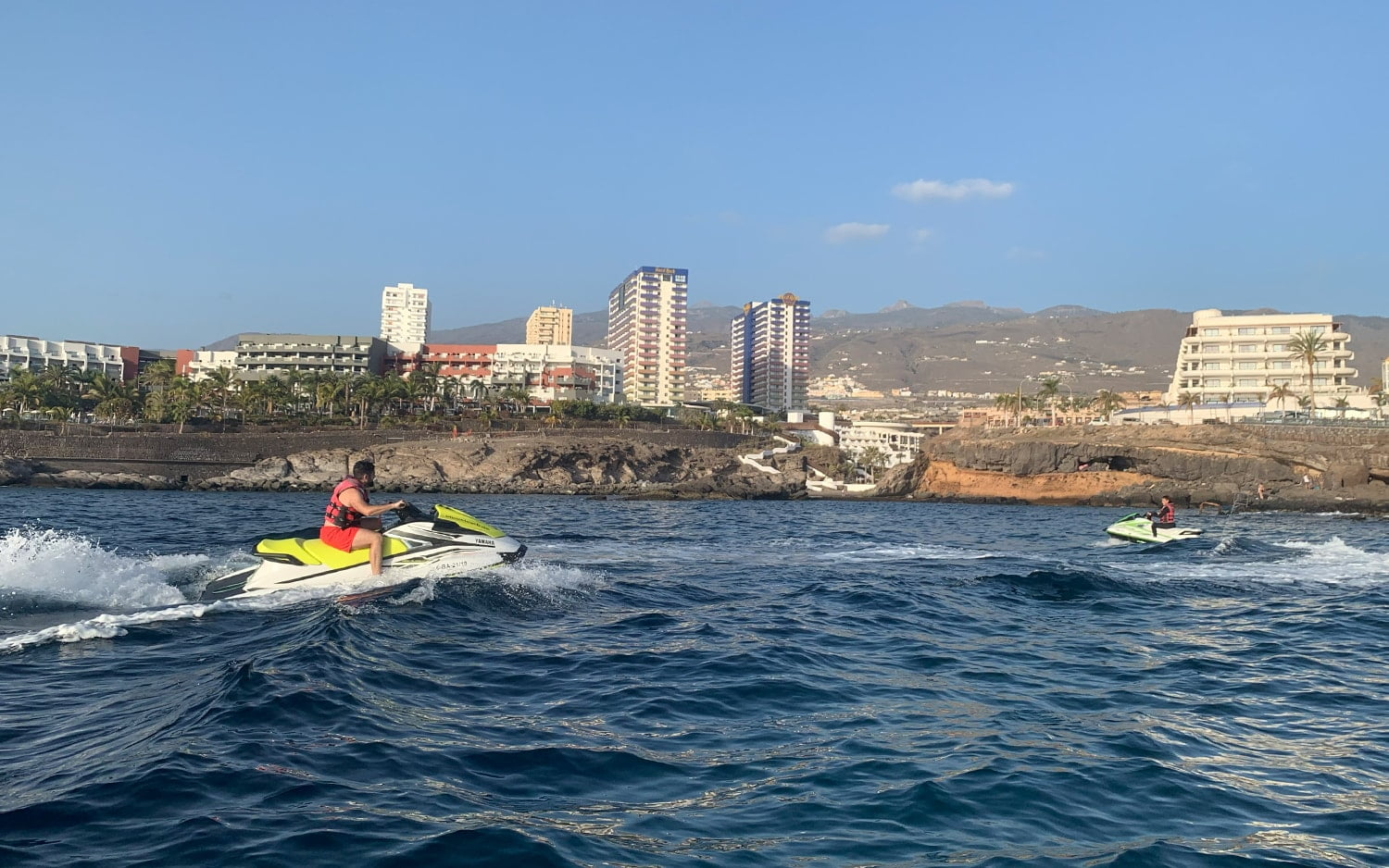 Sunset in Tenerife by Jet Ski