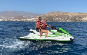 Jet Ski couple promotion