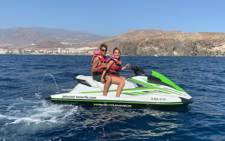 Jet Ski couple promotion