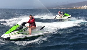 Jet Ski High Sea Tenerife