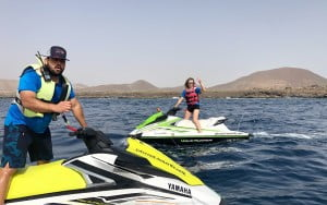 Great low cost jet ski experience in Tenerife