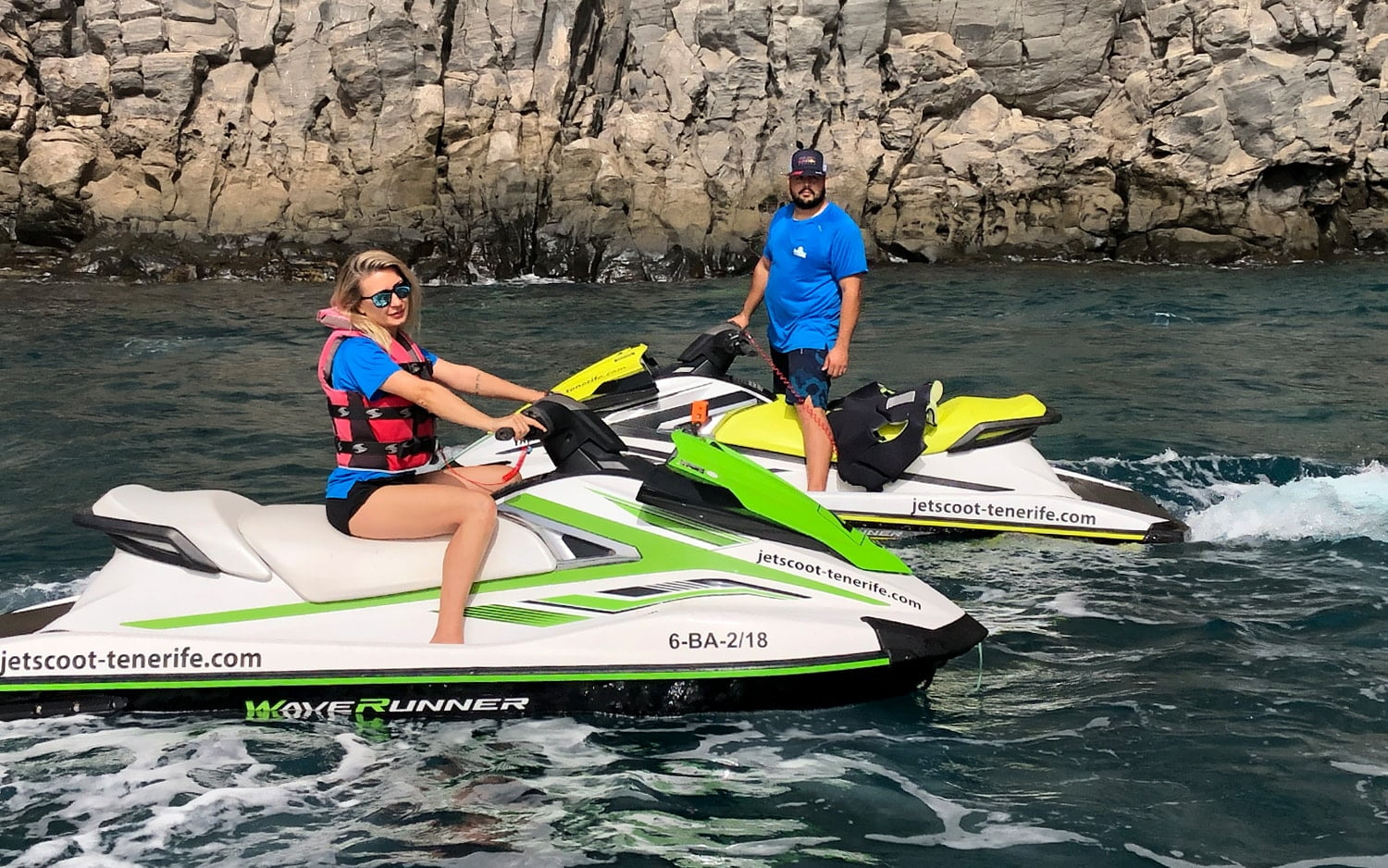 Jet Ski sunset for only 59€