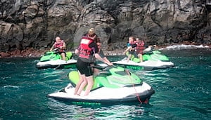 Jet Ski Tenerive Cueva Palm Mar Tour
