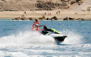 Jet Ski Tenerife Low Cost Offer Sunset