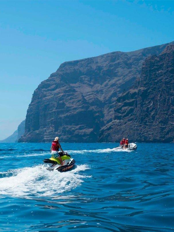 Moto de agua Los Gigantes Tour Tenerife