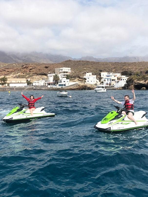 Moto de agua El Puertito Tour Tenerife