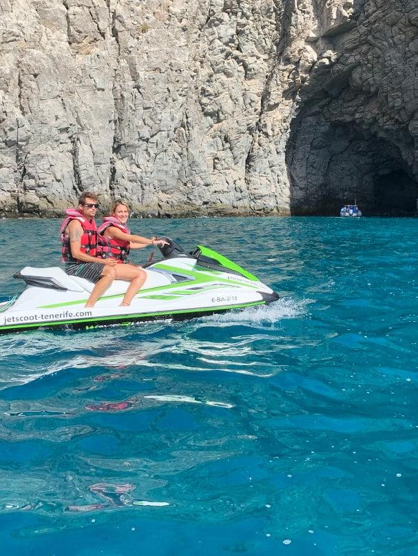 Moto de agua Palm Mar Tour Tenerife