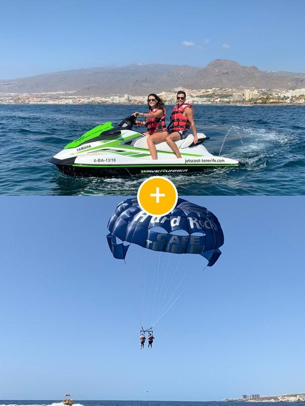 Pack deportes acuáticos Tenerife 1