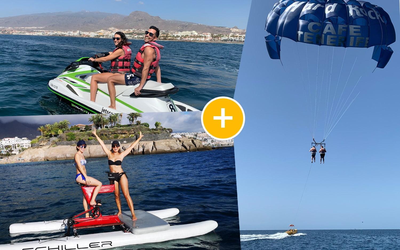 Pack Jet Ski + Water Bikes + Parasailing