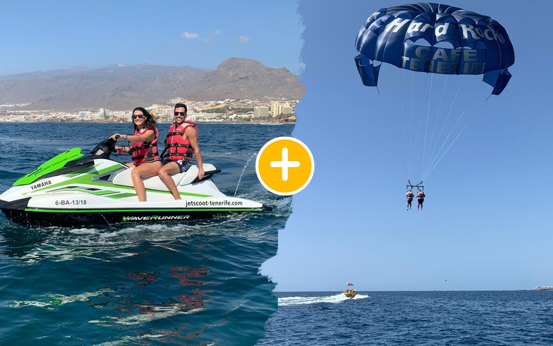 Pack Jet Ski 40 min + Parasailing