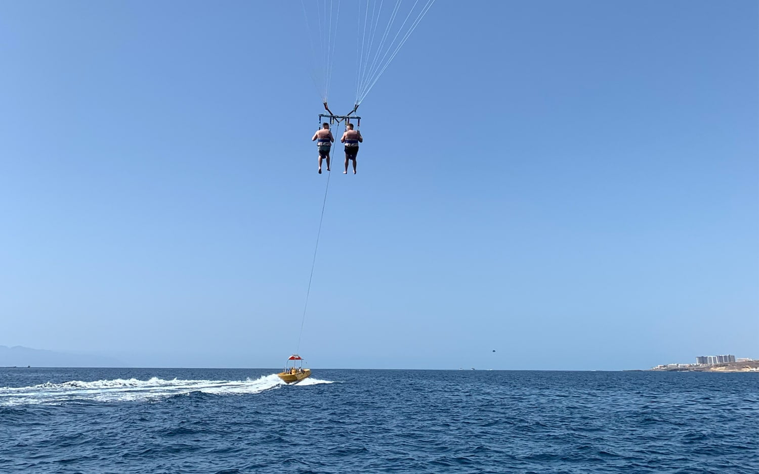 Parascending Tenerife Experience 2