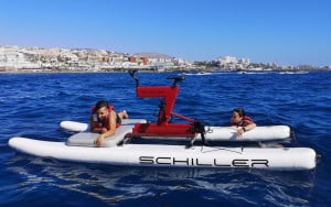 Water Bikes Tenerife Experience with JetScoot 1