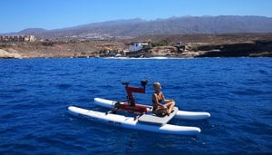 Water Bikes Tenerife JetScoot Itirerany 3