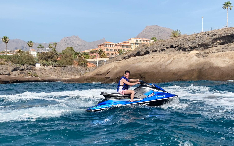 Jet ski with license rental Tenerife 3h 4