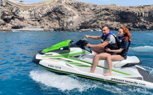 Alquiler de motos de agua con titulación Tenerife